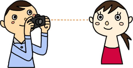 同じ目線で撮影