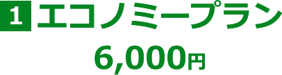 エコノミープラン 6,000円